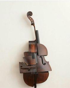 Elegant sculpture, from deconstruct instruments