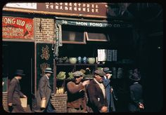 vintage everyday: Beautiful Color Photographs of Streets of NYC from the 1940s and 1960s