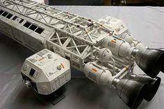 Space 1999 Eagle Transporter, FXmodels.com.