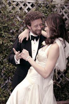 Angela Montenegro - Bones - wedding dress