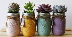 Resultado de imagem para frascos de vidrio decorados para cocina