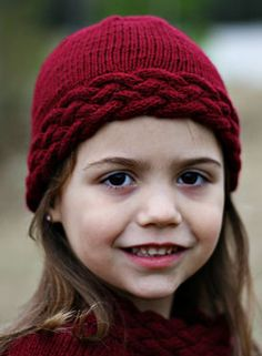Avalon Cabled Hat - Knitting Patterns and Crochet Patterns from KnitPicks.com