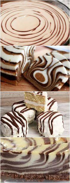O bolo mais lindo e fácil do mundo! Mini Desserts, Cookie Desserts, Food Cakes, Cupcake Cakes, Cake Recipes, Dessert Recipes, Mug Cake Microwave, Just Bake, New Cake