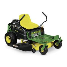John Deere 42 in. 22 HP Dual Hydrostatic Gas Zero-Turn Riding Mower New Best Riding Lawn Mower, Riding Mower, Mower Shop, Zero Turn Lawn Mowers, Lawn Service, Lawn Maintenance, Gas And Electric, Home Depot, Lawn And Garden