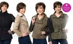 Ookie & LaLa Women's Jackets. Multiple Styles Available from $16.99–$48.99.