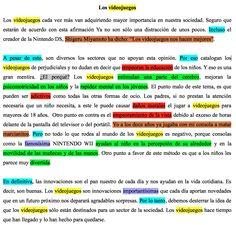 Este ejemplo de texto argumentativo con una tesis tiene la intención de dar a conocer la manera de abordar la tipología textual de la argumentación de una