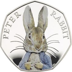 Peter Rabbit to feature on coin to mark Beatrix Potter anniversary, Royal Mint announces - Telegraph Beatrix Potter Illustrations, Beatrice Potter, Peter Rabbit And Friends, 50p Coin, Literary Characters, Benjamin Bunny, Bullen, Rabbit Art, Coin Collecting
