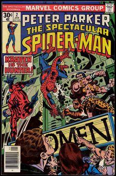 Peter Parker the Spectacular Spider-Man 2 Kraven the Hunter Marvel comics group Hulk Comic, Marvel Comic Books, Comic Books Art, Marvel Comics, Comic Art, Book Art, Marvel Heroes, Marvel Dc, Spiderman 2