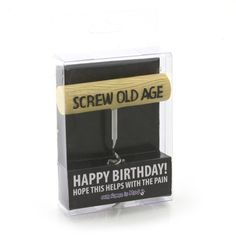 Screw Old Age Corkscrew - Time Your Gift - 1