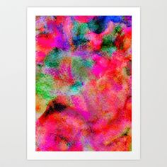 georgina Paraschive art | Substance Art Print by Georgiana Paraschiv