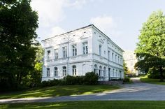 Embedded image permalink - Aku Eronen · Nov 14 Mustio manor in summer - - by Visit Finland Manor House Hotel, Archipelago, Helsinki, Finland, Norway, Europe, Mansions, Country, Architecture