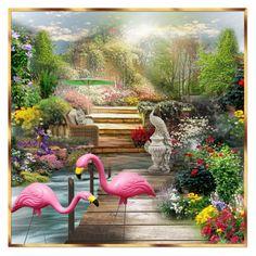 """""""Pink Flamingos!"""" by falticska-cerasella on Polyvore"""