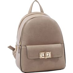 54fee37bcde1 MKF Collection by Mia K. Farrow Paytons Trendy Backpack - Light Stone.