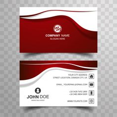 Abstract buisness card with wave design Free Vector Automotive Logo, Marketing Flyers, Medical Logo, Wave Design, Name Cards, Company Names, Business Card Design, Flyer Design, Slogan