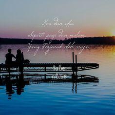 """""""Kau dan aku. Seperti pagi dan malam. Yang Terjarak oleh senja."""" . .  Kiriman dari @dinda_belasyavir . .  Tag like dan comment.  Kirim (DM /Like) kata-kata buatanmu ya.  #katakata #quotes #quotesoftheday #pathdaily #pathindonesia #yangterdalam #pecahankaca #catatanfilm #melodydalampuisi #sajak #puisi #sastra #kutipan Caption, Life Quotes, Inspirational Quotes, Photos, Instagram, Quotes About Life, Quote Life, Pictures, Living Quotes"""