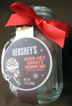 Mason Jar Mug & Brownie Mix Giveaway