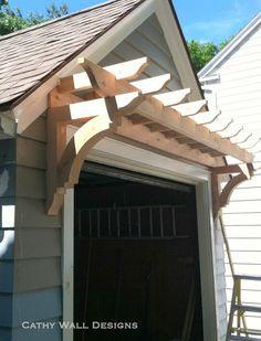 31 ideas pergola front porch curb appeal garage trellis for 2019 Garage Trellis, Garage Pergola, Diy Pergola, Pergola Kits, Pergola Ideas, Pergola Canopy, Pergola Swing, Pergola Roof, Cheap Pergola