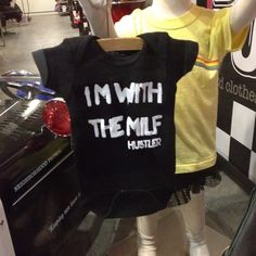 Funny baby clothes. Downtown HB. I think its called Born To Punk. orange-county-local-finds