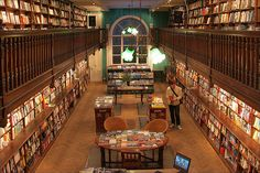 Daunt Books is an original Edwardian bookshop with long oak galleries and graceful skylights situated in Marylebone High Street, London. They also have shops in Chelsea, Holland Park, Cheapside, Hampstead and Belsize Park.    83 Marylebone High Street,   London W1U 4QW