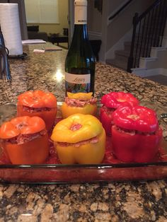 Stuffed bell peppers!