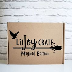 LitJoy Crate's Magical Edition limited edition Harry Potter box is available again! This box sold out in hours last time it was available! Harry Potter Subscription Box, Book Subscription, Quidditch Pitch, Litjoy Crate, Potter Box, Harry Potter Magic, Acceptance Letter, The Sorcerer's Stone, Chamber Of Secrets