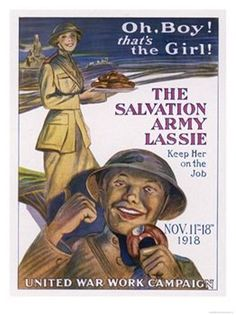 """Salvation Army Donut LassieSalvationists are comfortable within the army's autocratic structure, which emphasizes obedience, loyalty, and efficiency. The system has changed more in practice than in spirit since 1878.  Citation   (MLA 7th Edition) McKinley, Edward H. """"Salvation Army."""" Encyclopedia of Religion. Ed. Lindsay Jones. 2nd ed. Vol. 12. Detroit: Macmillan Reference USA, 2005. 8063-8064. Gale Virtual Reference Library. Web. 1 July 2013."""