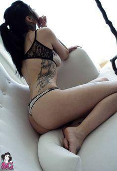 Suicide Girls Side Tattoo