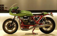 Planet Japan Blog: Moto Guzzi Le Mans III Special by Ritmo Sereno