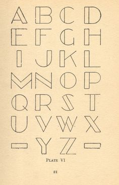 Awesome application of the typeface. More
