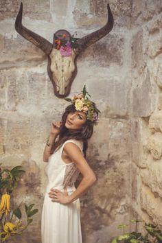 Cool Southwest Boho Bride | Camille Marciano for Junophoto | Bridal Musings Wedding Blog 43