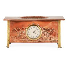 Buy online, view images and see past prices for MANNER OF GEORGE WALTON ARTS & CRAFTS COPPER AND BRASS MANTEL CLOCK, CIRCA 1910 37cm wide, 18.5cm high, 11.5cm deep. Invaluable is the world's largest marketplace for art, antiques, and collectibles.