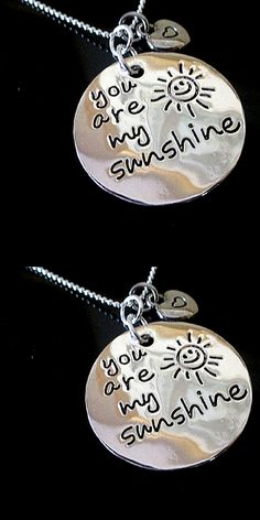 Want to make the one you love shine? This necklace is perfect for you! This adorable two piece pendant necklace is made with high quality plated sterling silver. Keep this close to your heart or give it to that special someone. Light up the love of your life today!