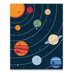 Studio Solar System 16 X 20 Wrapped Canvas Multi 135671007515460560 Multi Canvas Painting, Cute Canvas Paintings, Diy Canvas, Painting For Kids, Diy Painting, Canvas Art, Solar System Painting, Solar System Art, Arte Do Sistema Solar