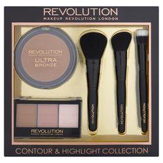 Makeup Revolution Bronze, Contour & Highlight Collection