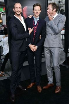 IT movie premiere. Gustaf, Bill and Alex.
