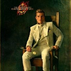 The Hunger Games: Catching Fire Peeta Mellark Capitol Portrait -- Josh Hutcherson is back for The Quarter Quell in this highly-anticipated sequel from director Francis Lawrence. -- http://wtch.it/z23T7