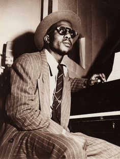 The 50 Most Stylish Musicians of the Last 50 Years  Thelonius Monk - He could pull off two looks — squash glasses and stingy brim hats — with extreme ease. A feat not for everyone.