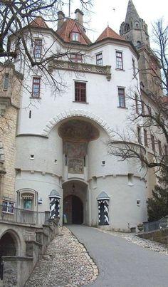 Sigmaringen Castle, Germany  photo via bertha