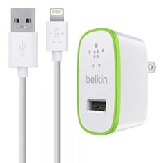 Shop for Belkin Fast A Usb Mains Charger With M Lightning Charge And Sync Cable For Ipad Pro Inch/ipad Air Plus (mfi Approved) - White. Starting from Choose from the 2 best options & compare live & historic phone accessory prices. Iphone 7, Best Iphone, Ipad Air, Cool New Gadgets, Usb, Ipod Nano, Boost Mobile, Wall Outlets, Portable Charger