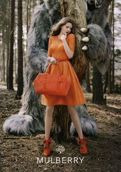 Fall-Winter 2012 Womens Mulberry Ad Campaign