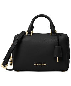 Strikingly sophisticated, this compact Michael Michael Kors mini satchel is…
