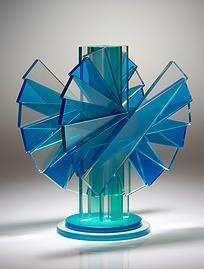 Sidney Hutter Glass & Light Fine Art Sculptures