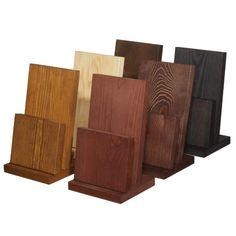 wood brochure holder - Google Search