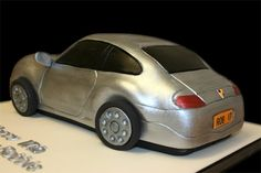 Porsche Cake - the making of by Sucre Coeur - Eats & Ink, via Flickr