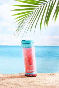 This all-in-one steep and sip travel mug makes iced tea easy as one, two, tea!