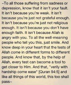 """La Tahzan Innallaha Ma'ana"" … Don't be sad; indeed, Allah is with us. [Qur'an Allah God, Allah Islam, Islam Muslim, Islam Quran, Islam Beliefs, Islamic Teachings, Islamic Dua, Islam Religion, Quran Quotes Inspirational"