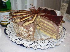 Dobos torta, számtalan receptet kipróbáltam, de ez egyszerűen bámulatos! - Egyszerű Gyors Receptek Tiramisu, Oreo, Pancakes, Breakfast, Ethnic Recipes, Party, Pastries, Food, Food Cakes