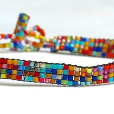 Our handmade bracelets are each unique and made with love