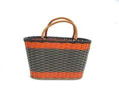 Soviet shopping basket carry bag