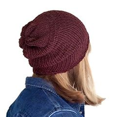 Handmade Mens Burgundy Alpaca Classic Slouchy Beanie Hat. Handmade Burgundy Beanie. Fits men, women, teens and kids. I make this beanie from a blend of alpaca wool, merino wool and silk making it completely luxurious and super soft. Non irritating. 13ins length. 20ins circumference - can stretch to 25ins to fit most size heads comfortably. Perfect for bad hair days! Cotton pouch included to store your beanie. Hand Wash and Dry flat.